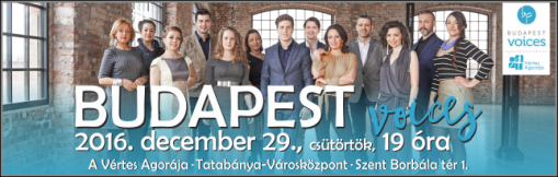 - Budapest Voices koncert